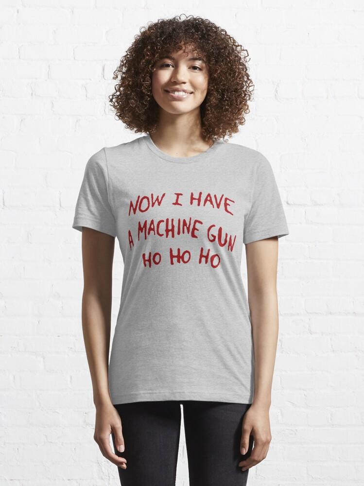 Alternate view of Die Hard Xmas Jumper Essential T-Shirt