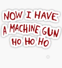Die Hard Xmas Jumper Sticker
