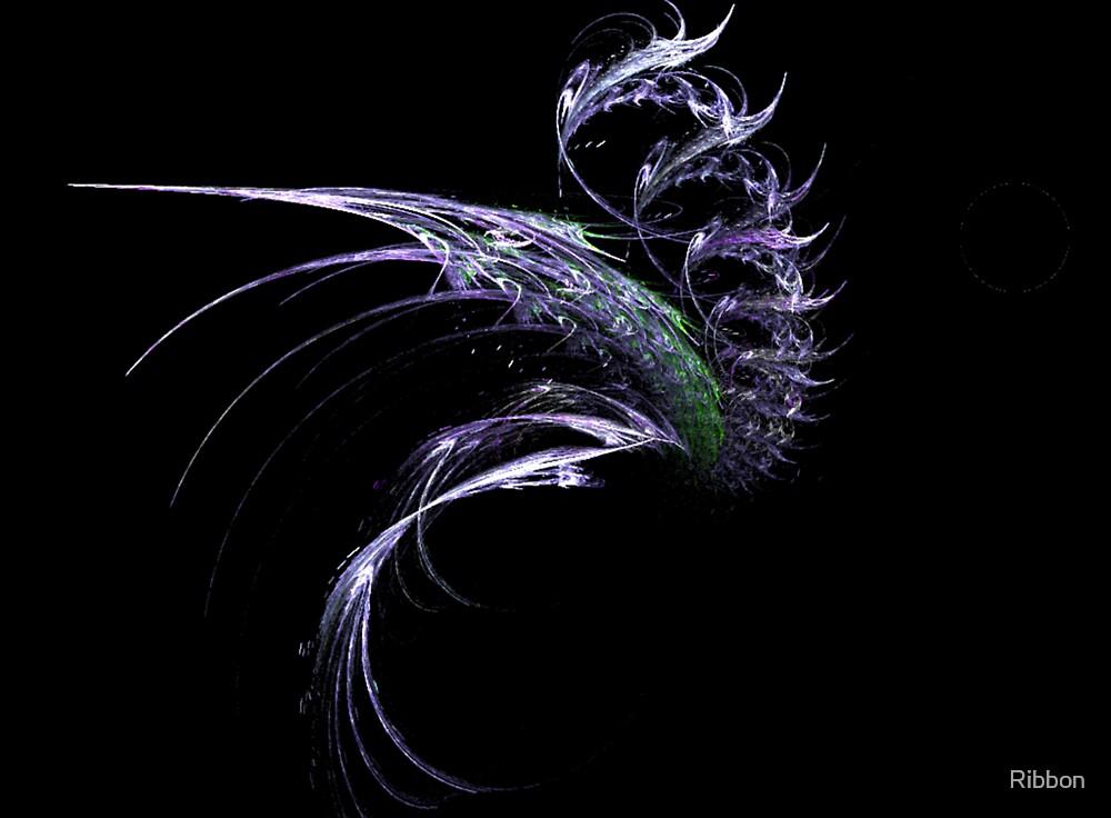 Loch Ness Monster by Ribbon
