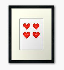 BIT Love Framed Print