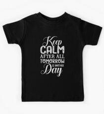 Keep Calm... Kids Tee