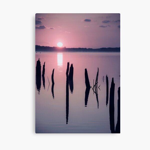 Sunrise over Manasquan Reservoir IV Canvas Print