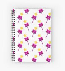 Cute pink wand Spiral Notebook