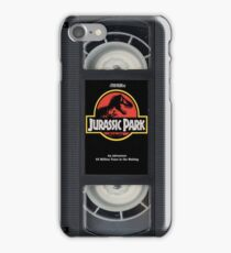 VHS Jurassic Park Case iPhone Case/Skin
