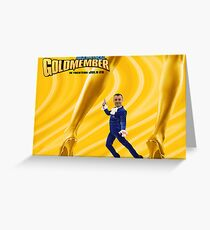 Jeff Burns in Goldmember Greeting Card
