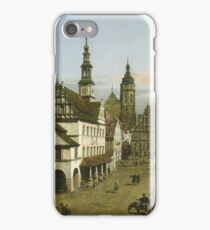 Bernardo Bellotto - The Marketplace At Pirnac 1764 iPhone Case/Skin