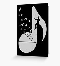 Musical Note- Conductor Greeting Card
