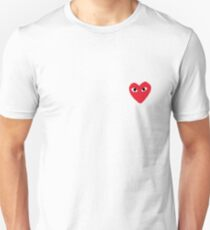 comme des garcons play Unisex T-Shirt