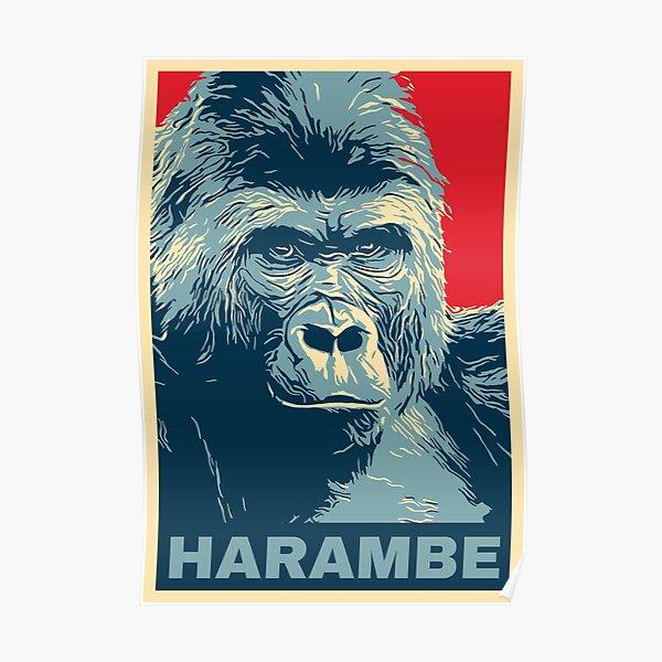 Harambe Poster