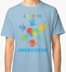 AUTISM AWARENESS HAND Classic T-Shirt