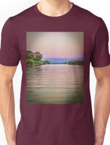 Colorful Danube landscape Unisex T-Shirt