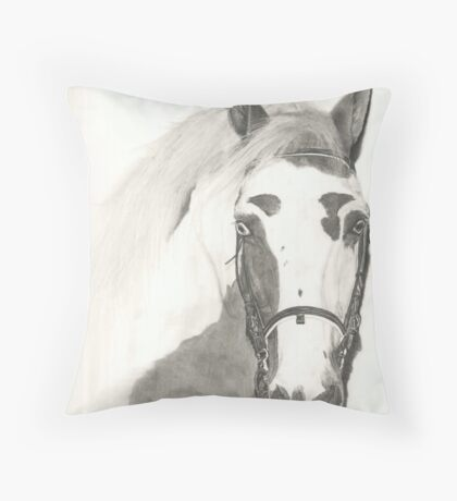 Cherokee - graphite Throw Pillow