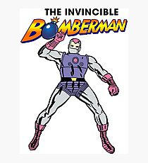 The Invincible Bomberman Photographic Print