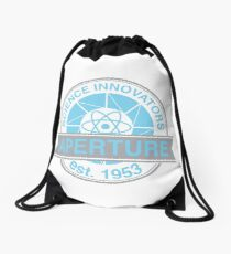 Aperture Science Innovators Drawstring Bag