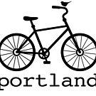 Portland (black text) by boogiebus