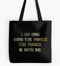 Force With Me Tote Bag