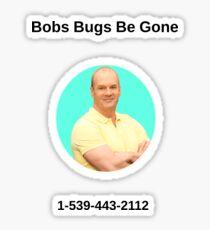 Good Luck Charlie Bob Duncan Bob's Bugs Be Gone Sticker