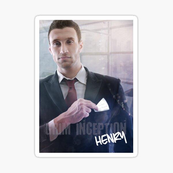 Henry Haas Sticker