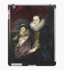 Anthony Van Dyck - Portrait Of A Woman And Child iPad Case/Skin