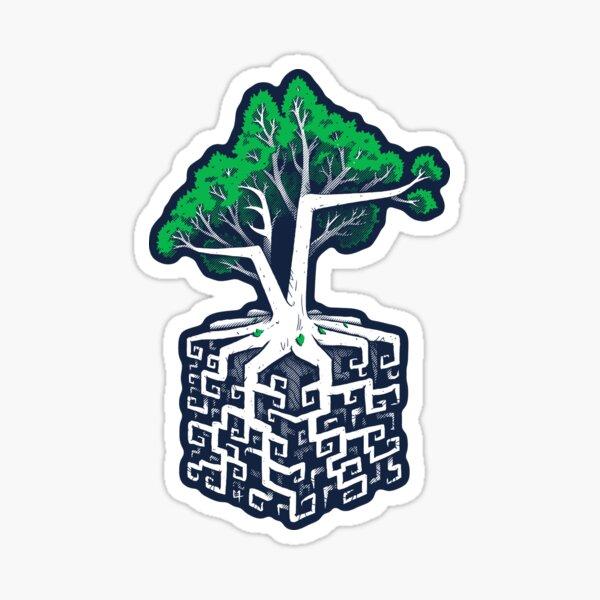 Cube Root Sticker
