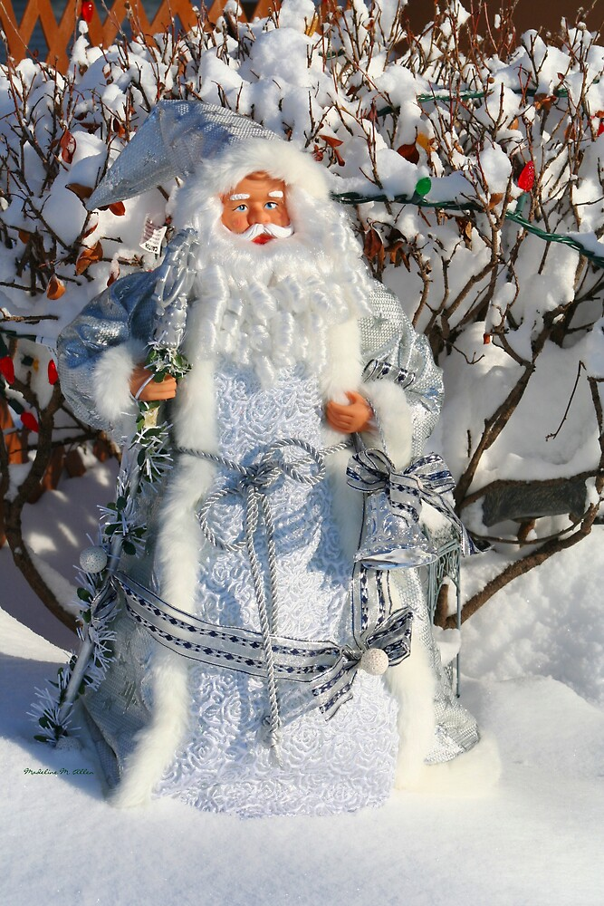 Father Christmas by Madeline M  Allen