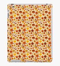 Silly Brown Pattern iPad Case/Skin