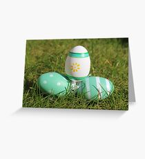 LE00091 - Easter Eggs Greeting Card