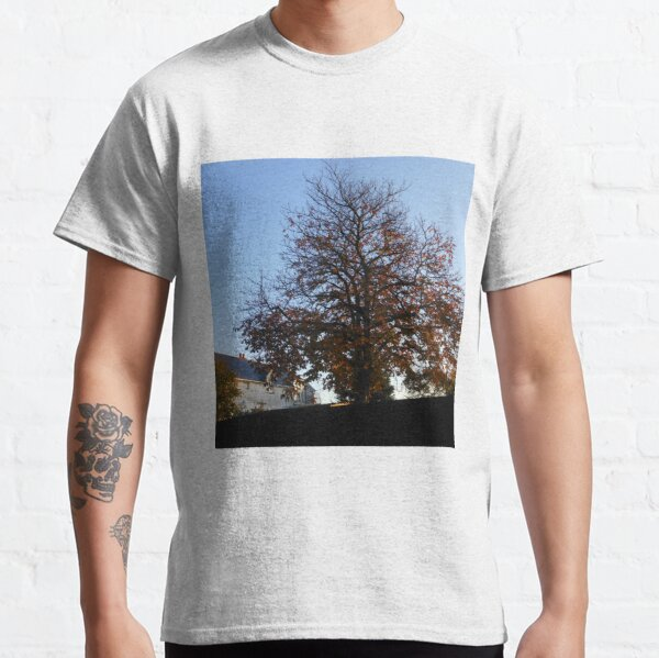 A Tree in Autumn at Sunrise Classic T-Shirt