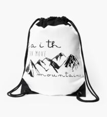 Matthew 17:20 Drawstring Bag