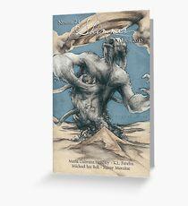 Scavenger's Nursery, Shimmer #24, Sandro Castelli Greeting Card
