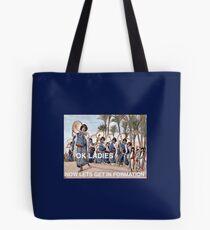 Timbrels in der Bildung Tote Bag