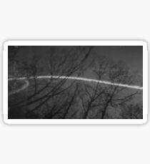Pinhole Photography - Landscape Sticker