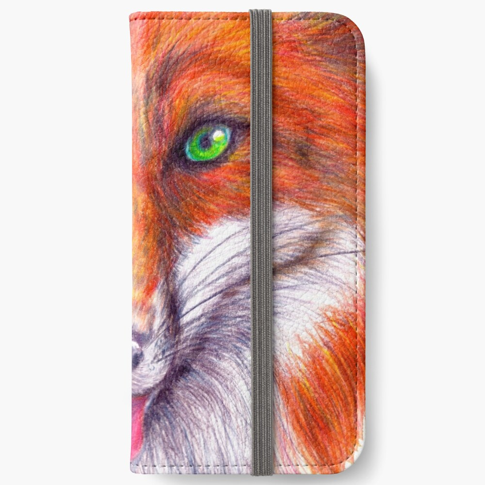Asche iPhone Flip-Case