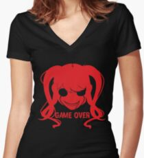 Fun Girl - Yandere Simulator Women's Fitted V-Neck T-Shirt