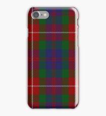 Fraser of Lovat Clan/Family Tartan  iPhone Case/Skin