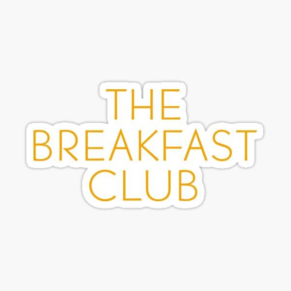 The Breakfast Club - Title Sticker