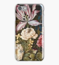 Ambrosius Bosschaerts The Elder - Still-Life With Flowers iPhone Case/Skin