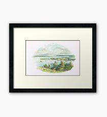 Cobh (then Queenstown) Harbour Ireland Framed Print
