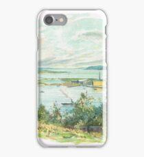 Cobh (then Queenstown) Harbour Ireland iPhone Case/Skin