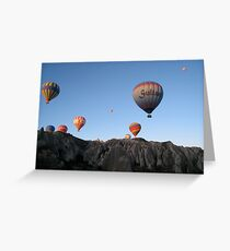 Magic Balloons Greeting Card