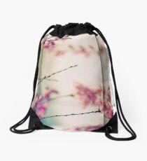 Breezy Cherry Panel Drawstring Bag