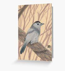 ACEO Catbird Greeting Card