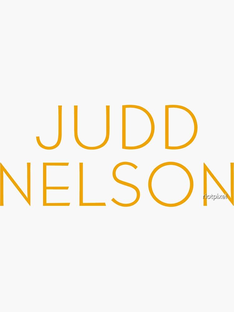 The Breakfast Club - Judd Nelson by riotpixel