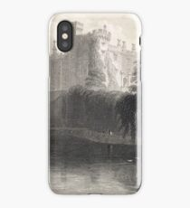 Engraving Kilkenny Castle, Ireland 1841 iPhone Case/Skin