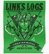 Link's Logs Poster