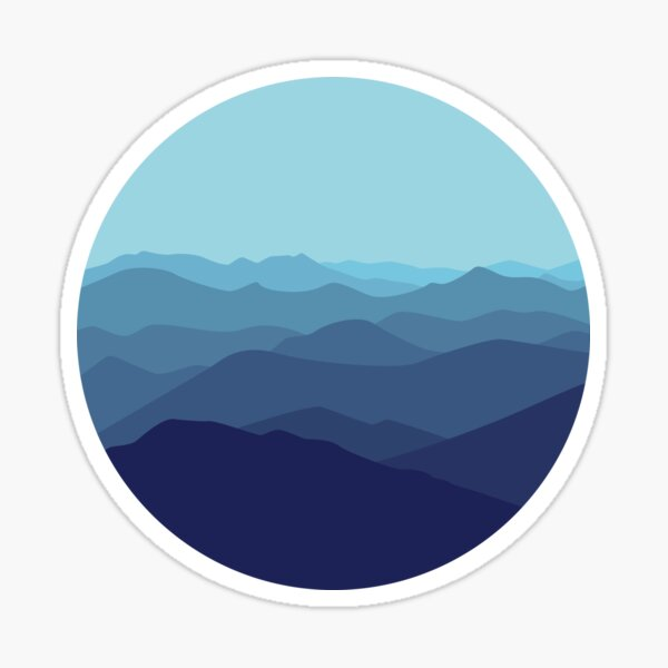 Blue Ridge Sticker