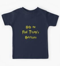 HelpMeFindTrump'sHorcruxes Kids Tee