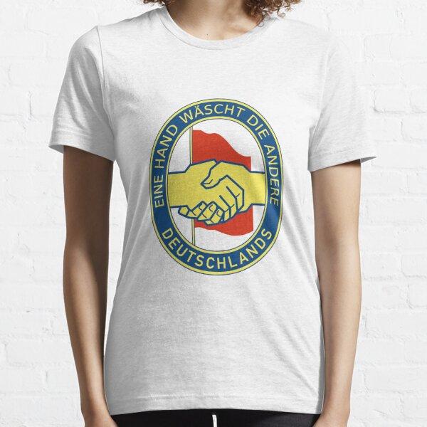 Eine Hand wäscht die andere. Essential T-Shirt