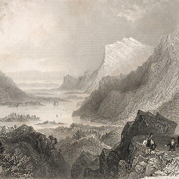 Approach to Killarney, Ireland, 1841 by artfromthepast