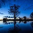 The sunset blues by Brent Randall